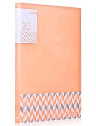 5165 20 páginas Tipo de inserción carpetas (2pcs)