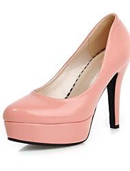 Chaussures Femme - Habillé - Noir / Bleu / Rose / Rouge - Talon Aiguille - Bout Arrondi - Talons - Faux Daim