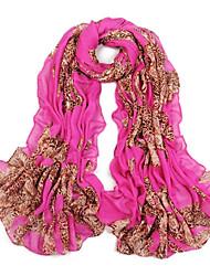 femmes ont augmenté mince fil bali surdimensionné écharpe