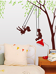 Swing Bedroom Plane Wall Stickers