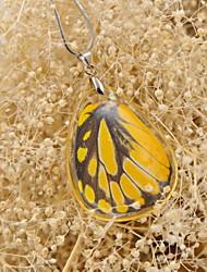 Schmetterling effect®real gesichtet Sägezahn Schmetterling einzigen Sieg Halsketten für Frühjahr fation Damen