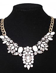 Resin Collar Necklace Set Auger Wings