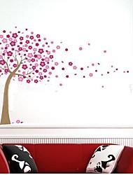 arbre de style sticker mural PVC amovible rurale
