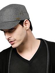 Kenmont New Cap;Spring Summer Men Army Hat; Outdoor Wool Flat Cap Casual Sun Cap 0568