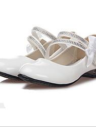Pompes / Talons ( Noir/Blanc ) - Synthétique - Chaussures à talons