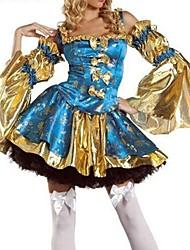 Halloween/Carnaval - para Mujer - Disfraces de Temas de Películas y Televisión/Pirata - Disfraces - Vestido/Mangas -