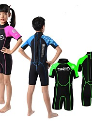 Slinx 3MM Neoprene For Kids Wet Suits Scuba Diving Surf Triathlon Shorts Sleeve One Piece Full Body Children Suits