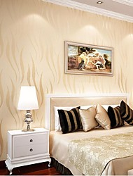 10m*0.53m 3D Pile Coating Thickening Wallpaper Non-woven Fabrics Wallpaper Breathe Freely  Environmentally Friendly Z12
