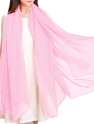 Women's Latest Fashion Solid Color Long Scarves