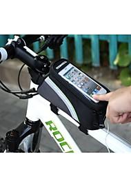 Bike Bag Frame ( Negro , Poliéster Cremallera a prueba de agua Ciclismo