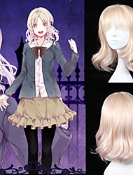 Angelaicos Womens DIABOLIK LOVERS Komori Yui Lolita Girls Curly Harajuku Halloween Costume Party Cosplay Wigs