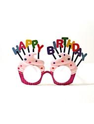 pc gelukkige verjaardag ijs stijl geek&chique creatieve party bril