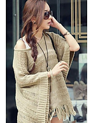 Women's  Fringe Accent Knitted Pullover