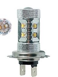 1pcs High Power 10 CREE LED Light H7 50W 360 Degree Car Turn Signal Light Rear Tail Stop Bulb Brake Lamp