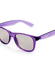 gafas 3D polarizadas universales (color al azar)