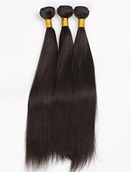 Mixed Hair Length 20in 22in and 24inch Brazilian Virgin Straight Hair Natural Colour 3pcs/lot