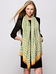 Zizhen décontracté tout en cachemire match foulard des femmes