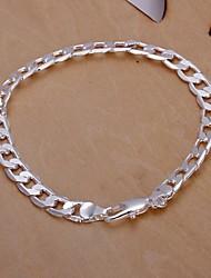 6M European Fashion 925 Silver Chain Bracelets(1Pc)