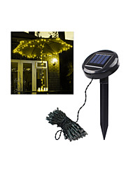 100 Solar Powered Outdoor String Lights -Fairy Lights-Christmas String Light For Decoration