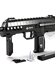 AUSINI. Anti-truth  Assembled  Submachine Gun MP7 Educational Toys