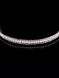 Women Alloy Tiaras With Imitation Pearl/Rhinestone Wedding/Party Headpiece