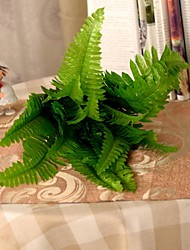 """10.2 """"l conjunto de um verde 8 membros samambaia persa plantas pano de seda"""