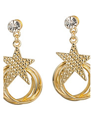 Women's Fashion Personality Star Multiple Circle Earring(More Colors)
