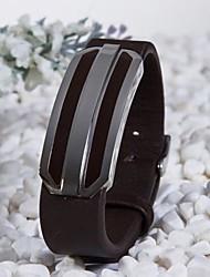 Leder - Lederen armbanden - Armbanden - voor Feest/Dagelijks/Causaal/Sport - 1pc