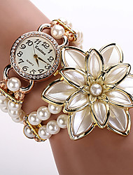 New Fashion Quartz Watch Women Dress Watch Pearl Flower Wristwatch Luxury Gold Relogio Feminino Electronics Cool Watches Unique Watches