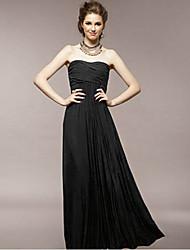 moda sexy strapless vestido longo de Aimee mulheres