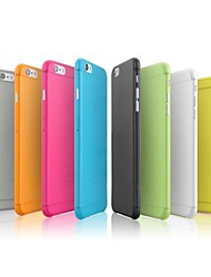 Pour Coque iPhone 7 Coques iPhone 7 Plus Coque iPhone 6 Coques iPhone 6 Plus Ultrafine Coque Coque Arrière Coque Couleur Pleine Dur