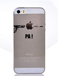 iPhone 5/iPhone 5S - Кейс на заднюю панель - Специальный дизайн ( Разноцветный , Термопластик )