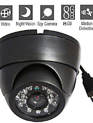 8GB Nigh Vision Real-Time Motion-Activated Surveillance Camera DVR Plug-And-Record Independent