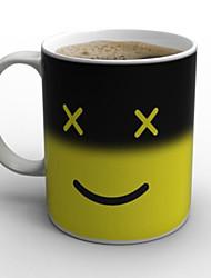 магия понедельник кружка кофе тепло изменение цвета чашка 8 * 8 * 9,5 см