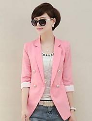 Women's Casual V-Neck Blazer Suits