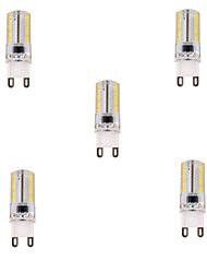 ywxlight 5w G9 führte Maislichter t 80 smd 3014 450 lm warmweiß / kaltweiß dimmbar 220-240 V Wechselstrom, 5 Stück