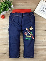 Boy's Cotton Jeans , Fall/Spring