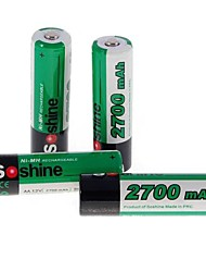 Bateria NI-MH - AA - 2700 - com 4