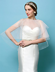 Wedding  Wraps Tulle Capelets(More Colors)