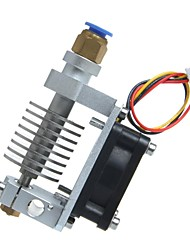geeetech metálica e3d j-head v2.0 larga distancia extrusora ventilador de refrigeración