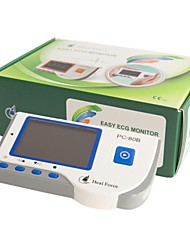 Heal Force PC-80B портативный сердце ЭКГ монитор зонд ЭКГ цветной экран электро CE утвердить