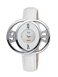 Women's Fashion Watch Quartz Analog Charm Designs Exaggerated Unique ring Case Shinning Rhinestones
