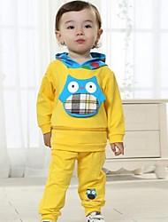 Boy's Cotton Clothing Set , Summer/Spring/Fall Long Sleeve