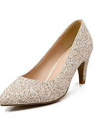 Women's Shoes Pointe Toe Cone Heel Glitter Pumps Shoes More Colors available