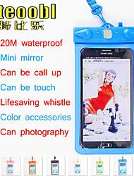 """Tteoobl t-11d 20m PVC-6 """"Handy wasserdichte Beutel Wassertrockenkastenbeutel für iphone6 Plus Samsung N7100 Hinweis4"""