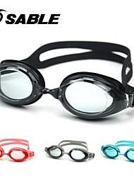 zobel beskyttelsesbriller teenager mat dreng vandtæt antidug spejl svømning stor kasse 935t