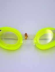Three-piece Swimming Goggles Essential Value (Glasses + Earplugs + Nose clip) (Green)