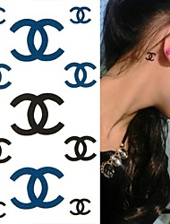 Brand Tattoo Stickers Temporary Tattoos(1 pc)