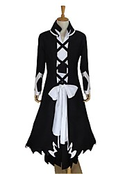 Inspired by Cosplay Cosplay Anime Cosplay Costumes Cosplay Suits Patchwork Black Long Sleeve Coat / Pants / Gloves / Underwear / Belt