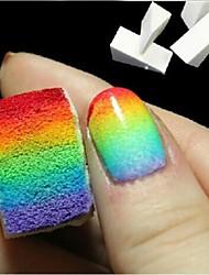 8 PCS DIY Nail  Tools Sponge Stamp